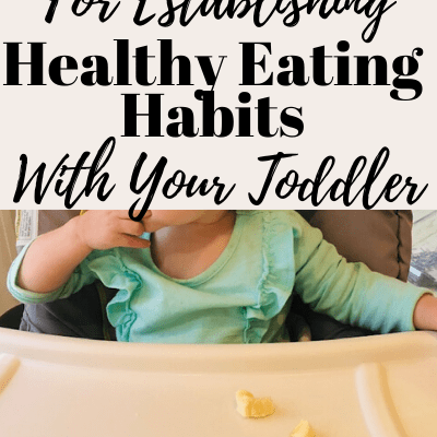 10 Tips For Establishing Healthy Eating Habits With Your Toddler