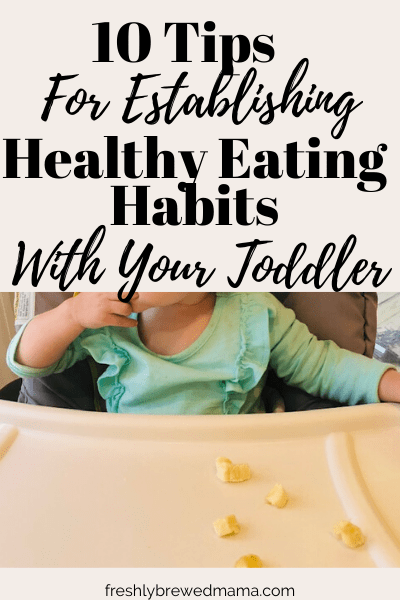 healthy eating habits for toddler
