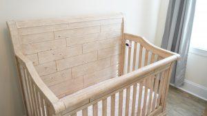 baby monitor in crib