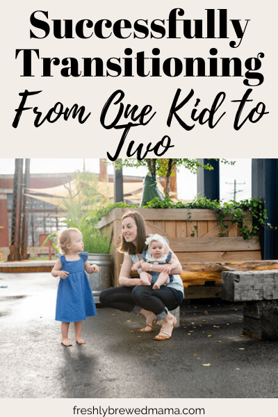 transition from one to two kids