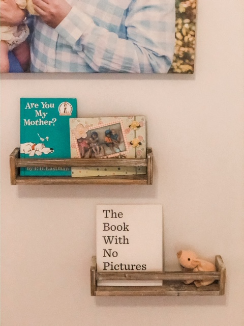 kids room floating shelves ideas