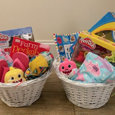 Easter Basket Inspiration for Toddler