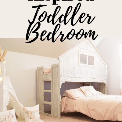 Farmhouse Inspired Toddler Bedroom