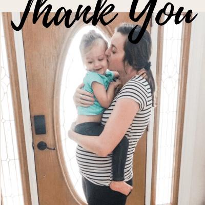 Dear Daughter: Thank You