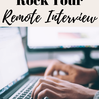 5 Easy Tips To Rock Your Remote Interview