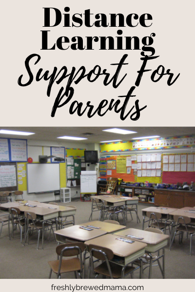 distance learning support for parents