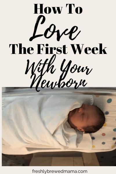 newborn first week