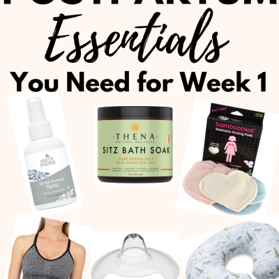 20 Postpartum Care Essentials For Mom